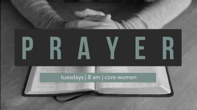 Corporate Prayer - Core Women