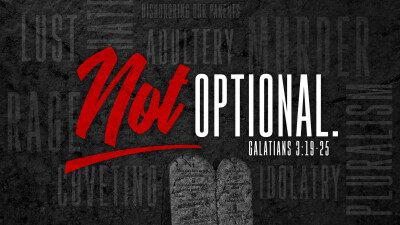 Our Latest Series: Not Optional