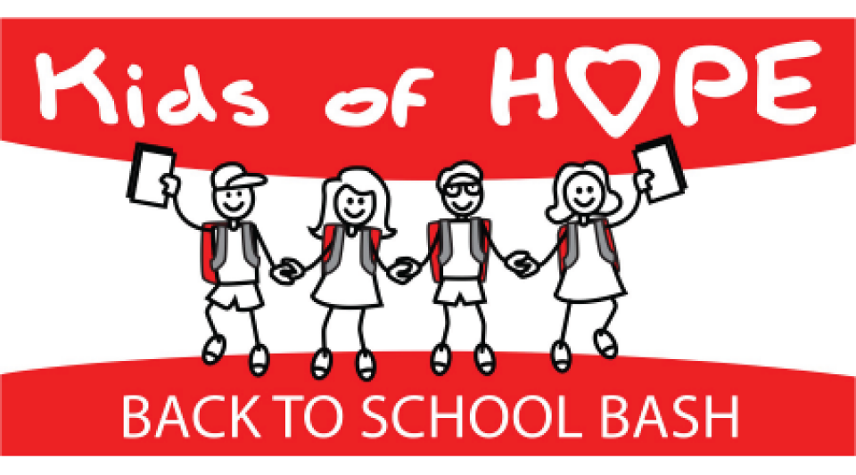 Donate to Kids of Hope Back To School Bash